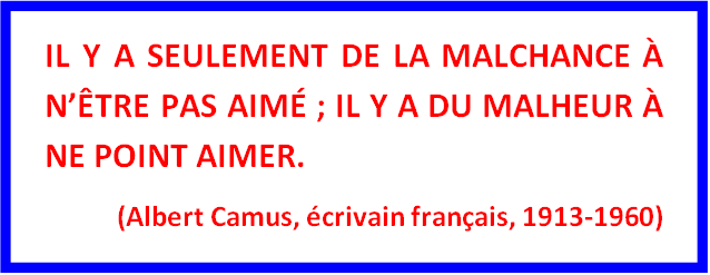 Citation A. Camus