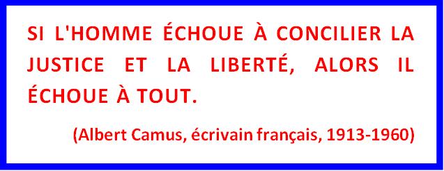 Citation Albert Camus