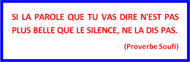 Proverbe Soufi